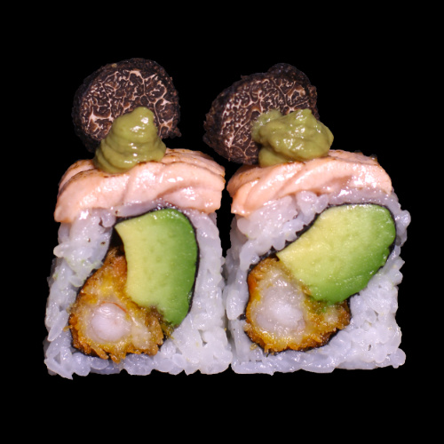 11 SALMON ABURI ROLL